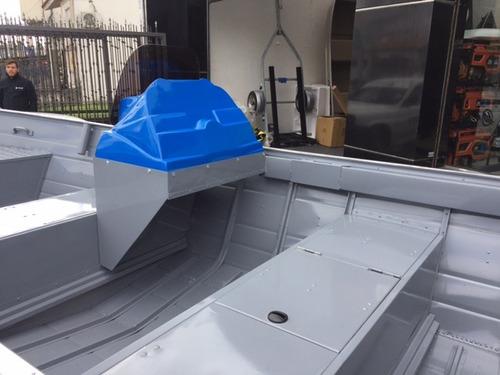 bote de aluminio polimarine 600 mercury 40hp nautica lanchas