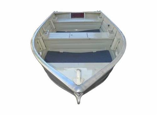bote de aluminio uai bigua 350 + motor parsun 3.6 hp