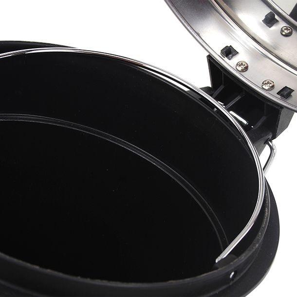 Bote de basura de acero inoxidable de 5l para ba o cocina for Accesorios para el bano en acero inoxidable