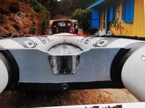 bote de goma con motor 3.5 hp