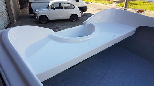 bote de lujo map 380 trailer motor 2,2 hp nautica milione 1