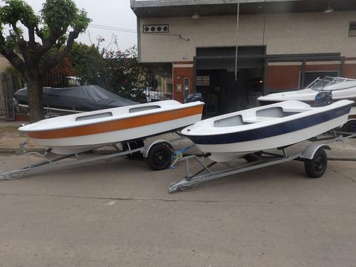 bote de lujo map 380 trailer y motor 15 hp nautica milione 2