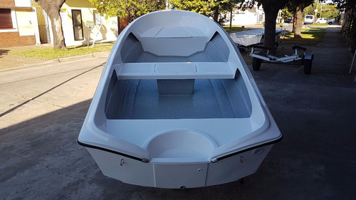 bote de lujo map 380 trailer y motor 15 hp nautica milione 5