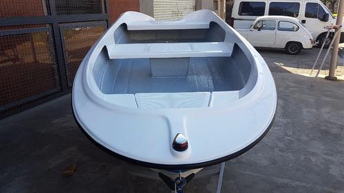 bote de lujo map 380 trailer y motor 15 hp nautica milione