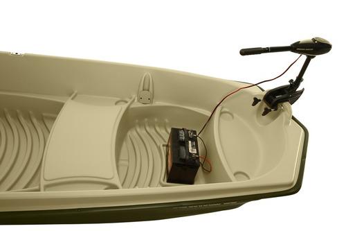 bote de pesca american 12 jon, marca sundolphin hecho en usa