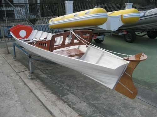 bote de remo doble par  con timonel 2018 okm
