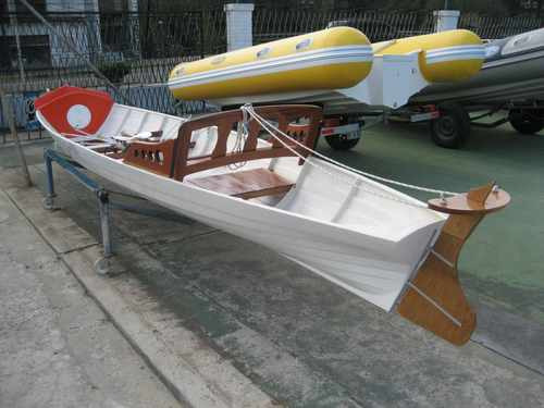 bote de remo par simple  con timonel 2019 okm