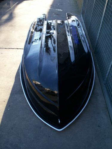 bote della ostia brunetta-330 0hs 3 asientos,doble fondo y +
