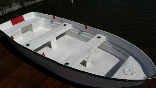 bote della ostia e-320 fibra doble fondo pesca y recreacion