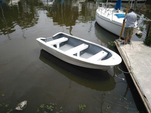 bote della ostia fg-380 0hs pesca doble fondo laguna espejo.