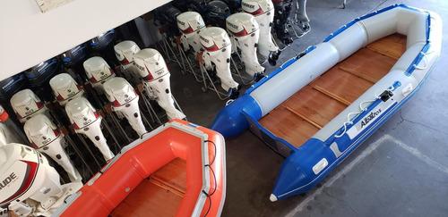 bote desarmable gomon albatros 430 m nuevo nautica milione 7