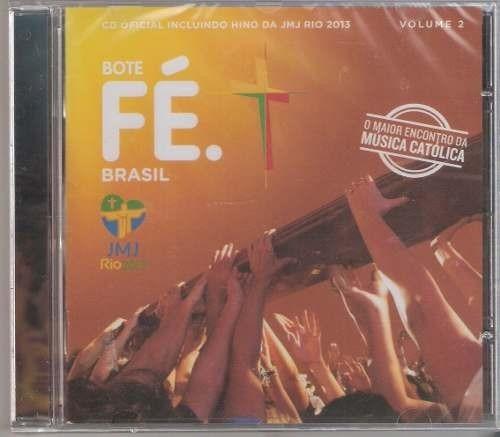 bote fé brasil vol. 2 cd original lacrado