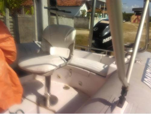 bote flexboat sr500 mercury 115 c/ carreta rodoviária