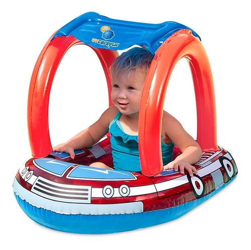 bote flotador bebe pileta techo inflable pileta filtro uv 50
