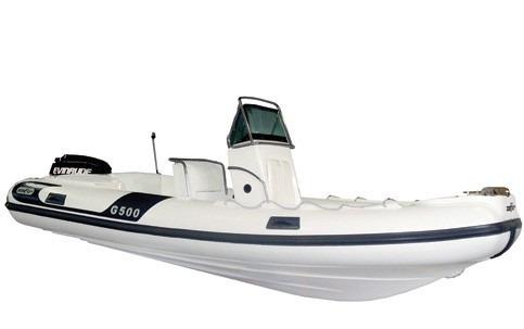 bote g500 casco 0km - infláveis zefir - marina atlântica