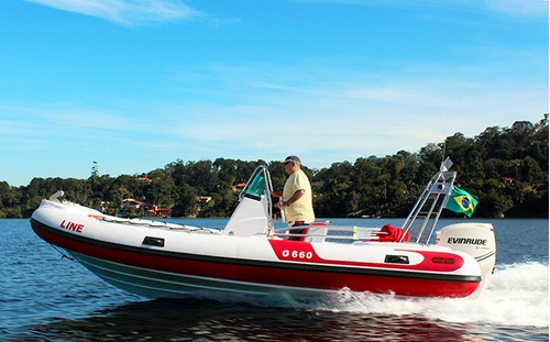 bote  g660 casco 0km de fábrica - marina atlântica