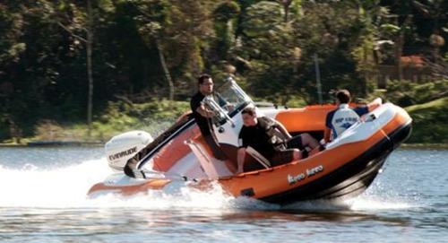 bote g660 casco 0km - infláveis zefir - marina atlântica