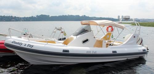 bote g800 full casco 0km - infláveis zefir -marina atlântica