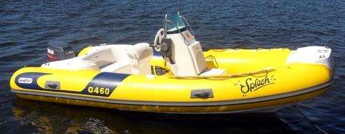 bote gold 4.6 sport casco 0km - zefir -marina atlântica