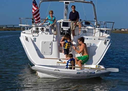 bote gomon chinchorro americano walker bay remo inflador
