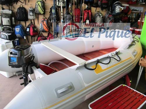 bote gomon desarmable 3.50 m. albatros / accesorios náuticos