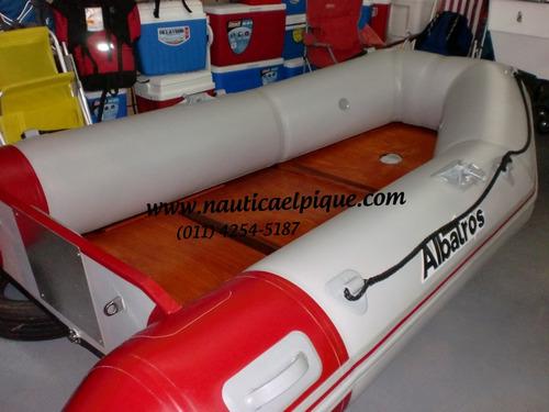 bote gomón desarmable albatros 3.00 0 km. año 2020!! quilmes