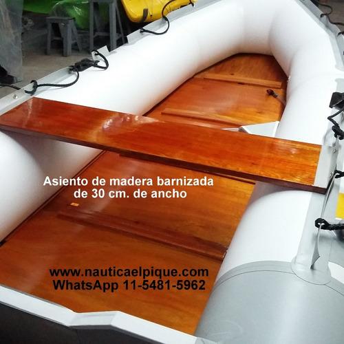 bote gomón desarmable albatros 4.30 metros quilmes