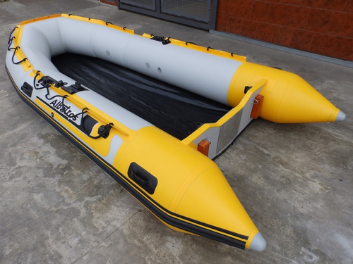 bote gomon inflable albatros 4 muy completo nautica milione