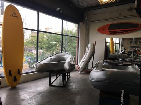 bote gomon inflable hifei hss 200d  ap nautica