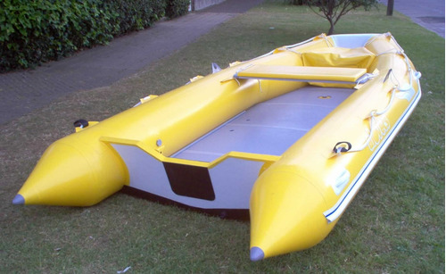 bote gomón marinero alovecs mq-430 quilla inflable