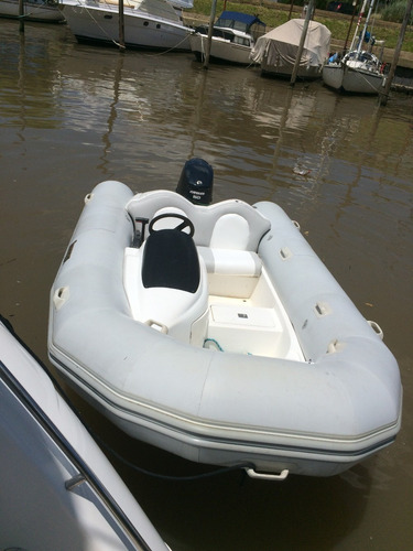 bote gomón semirrigido hypalon 3.90 motor 50 hp e-tec permut
