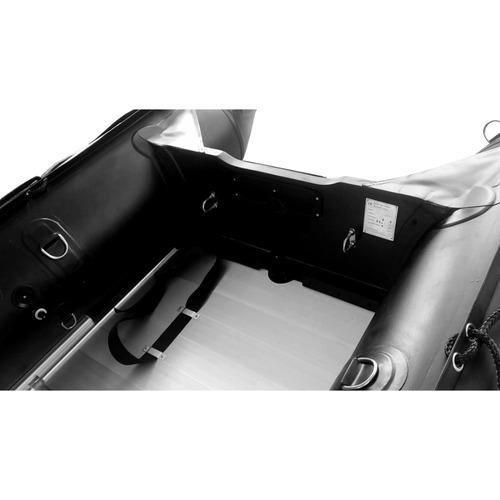 bote gomon tactico piso de aluminio desarmable 4.60 m torque