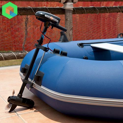 bote inflable aquamarina linea profesional + motor marino