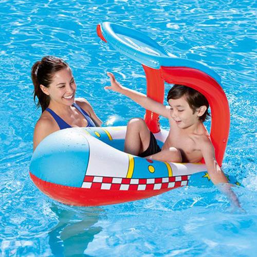 bote inflable bebe bestway 34100 para pileta con techo