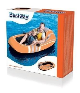 bote inflable bestway 196x114 cm 61100 - envios - luico