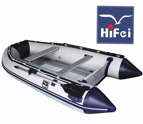 bote inflable c piso de aluminio y quilla inflable 4.20 mtc