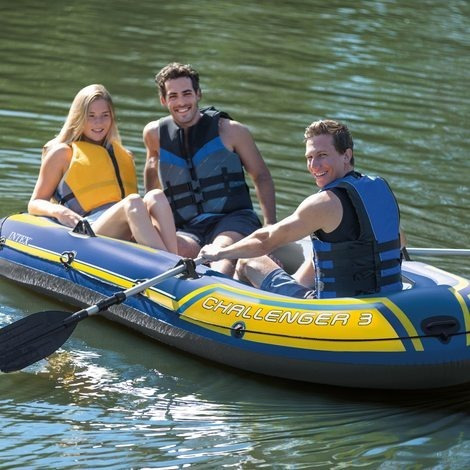 bote inflable camping