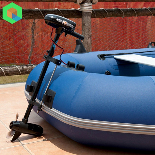 bote inflable classic + motor marino + 3 chalecos