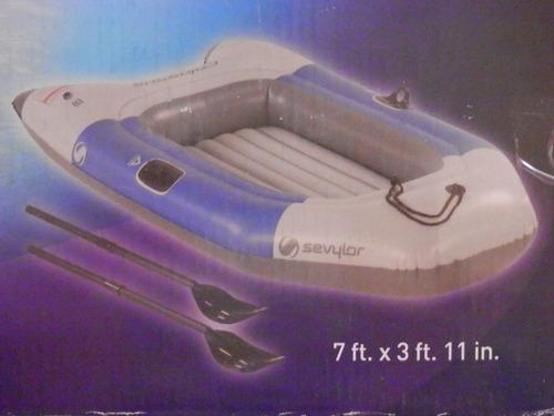 bote inflable coleman sevylor para 2 personas de 7pies largo