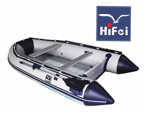 bote inflable con piso de aluminio y quilla inflable 3.20mtc