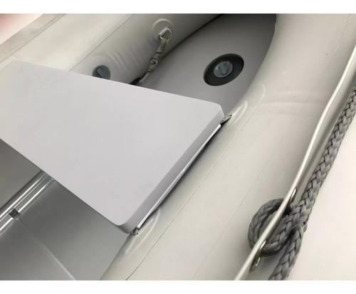 bote inflable con piso de aluminio y quilla inflable 3.60mtc
