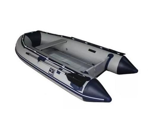 bote inflable con piso de aluminio y quilla inflable 3.80 mt