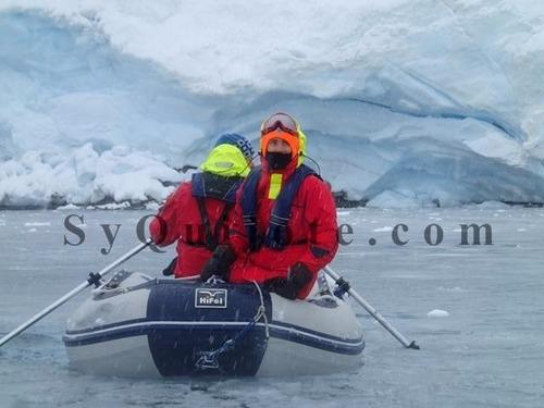 bote inflable con piso de aluminio y quilla inflable 4.20mtc