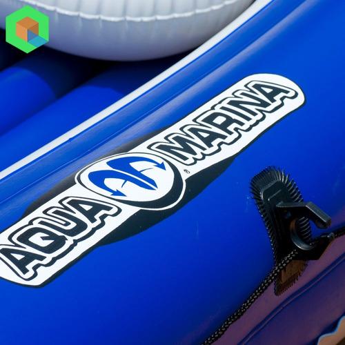 bote inflable familiar aquamarina wildriver + motor marino