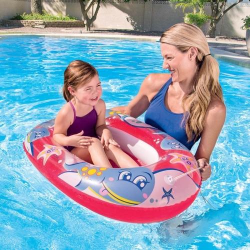 bote inflable flotador bestway 34037