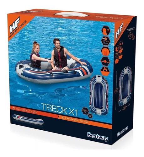 bote inflable gomon  hydroforce bestway + 2 remos + inflador