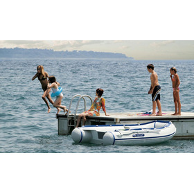 Bote Inflable Gomón Tender Desarmable Piso Aluminio Yc320al