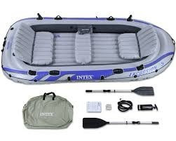 bote inflable intex 5 persona  excursion 5 68325 camping