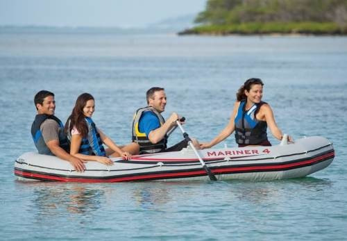 bote inflable mariner 4 a 5 personas rio mar kit completo