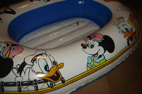 bote inflable para niños disney mickey mouse pluto donald .